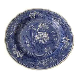 The Spode Blue Room Collection 'Botanical' Plate For Sale