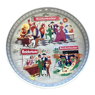 'Have a Knick' Knickerbocker Beer Tray For Sale