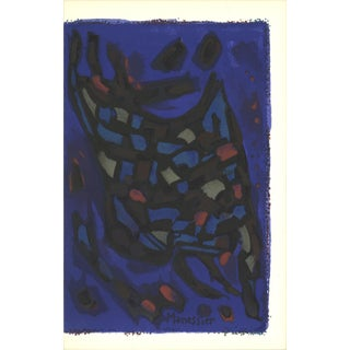 """First Edition Prints from the Mourlot Press: """"Composition"""" by Alfred Manessier, 1964 For Sale"""
