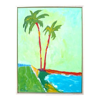 Two California Beach Palms For Sale