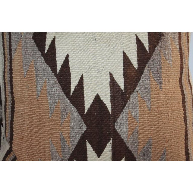 Early Transitional Navajo Indian Weaving Pillows For Sale - Image 4 of 7