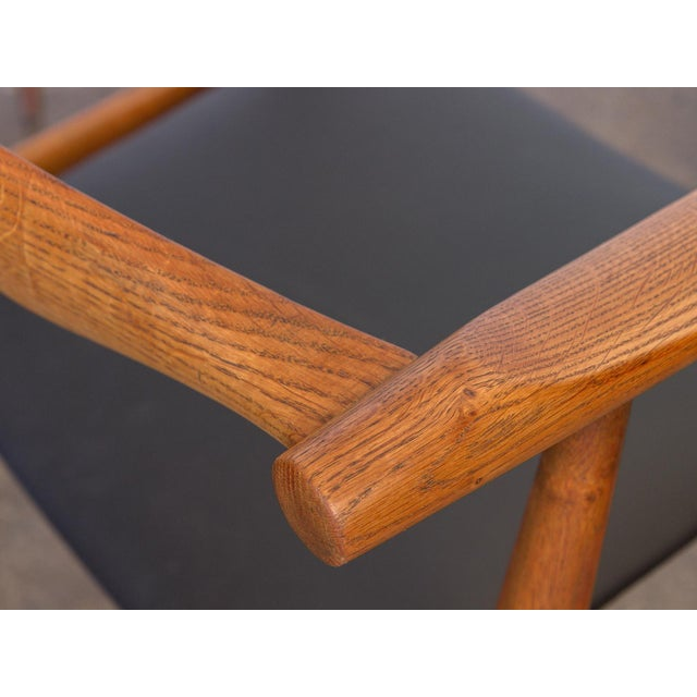 Set of Four Wegner CH-35 Armchairs - Image 10 of 11