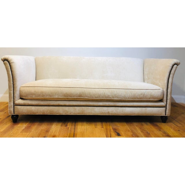 Dapha Upholstery Beige Sofa For Sale - Image 13 of 13