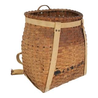 Adirondack Trapper Basket For Sale