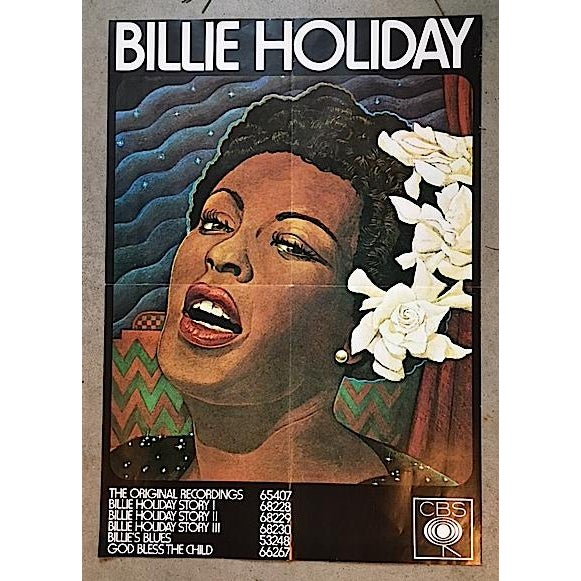 Vintage Billy Holiday Poster - Image 2 of 4
