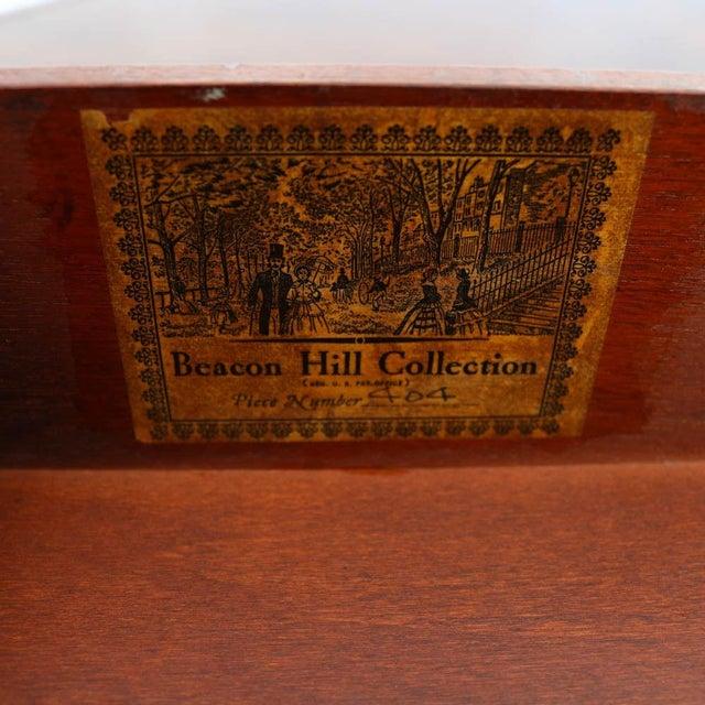 Beacon Hill Georgian Style Mahogany Pedestal Desk - Image 7 of 11