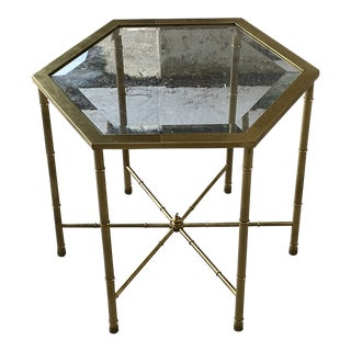 Mastercraft Side Table For Sale