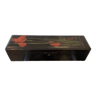Late 20th Century Japanese Lacquer Box For Sale