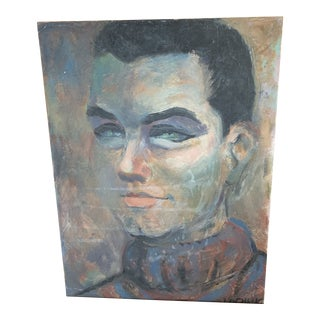 Portrait of Man Painting For Sale