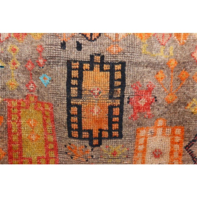 """Type of Rug : Taznakth Dimensions : 3'1"""" x 4'9"""" feet / 95 x 145 cm Material : 100% wool Age : Vintage / circa 1970s..."""