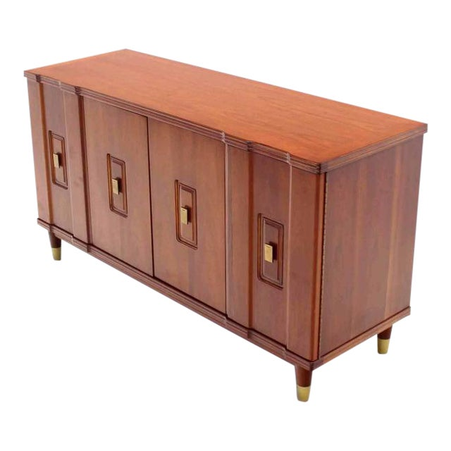 Distinguished Mid Century Modern Accordion Doors Dresser By John