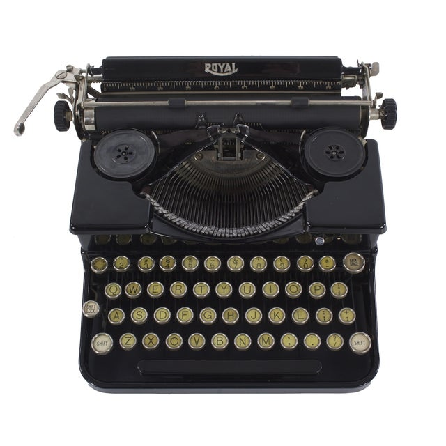 Royal Portable Typewriter - Image 1 of 5