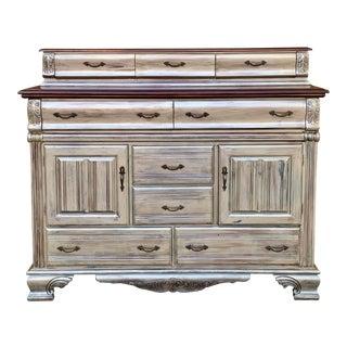 20th Century European Wooden Side Board/Buffet For Sale