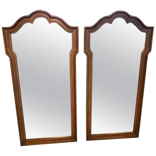 Pair of Hollywood Regency Mirrors-a Pair For Sale