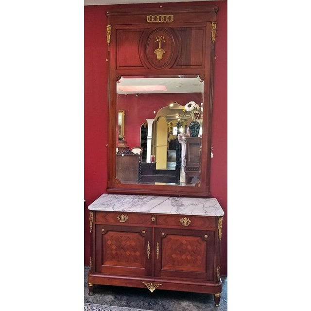 19c French Louis XVI Style Complete Bedroom Set For Sale - Image 12 of 12