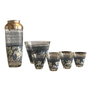 1960s Martini Shaker Set of 8 For Sale