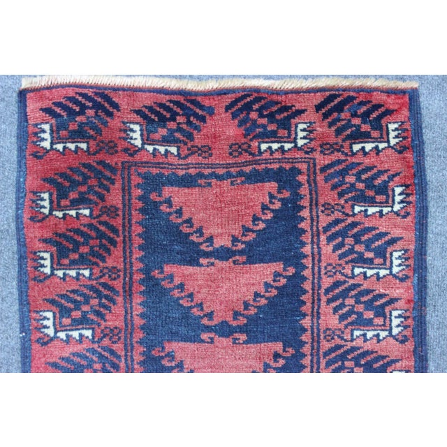 Turkish Hand Made Runner - 1′9″ × 9′5″ - Image 3 of 8
