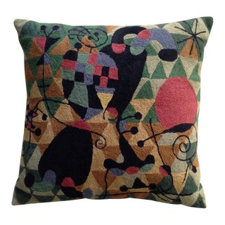 Miro Tapestry Pillow For Sale
