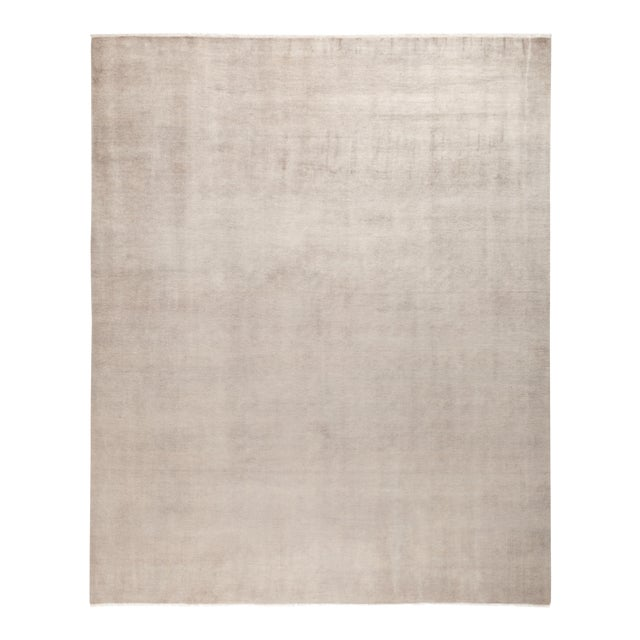 "Solids Hand Knotted Area Rug - 8' 0"" X 10' 0"" - Image 1 of 4"