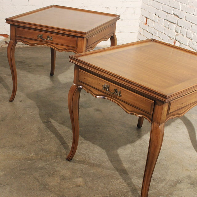 Widdicomb French Provincial Side Tables - A Pair - Image 2 of 5