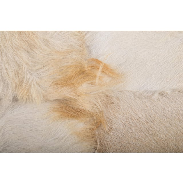 "Aydin Goatskin Patchwork Accent Area Rug - 4'7"" x 7'3"" - Image 5 of 8"