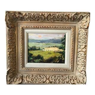 """Rugan """"Natchez Trace"""" Landscape Painting For Sale"""