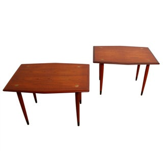 Dux Hexagonal Shaped Accent & Side Tables For Sale