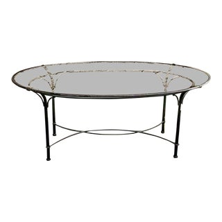 Traditional Brown Jordan Florentine Aluminum Dining Table For Sale