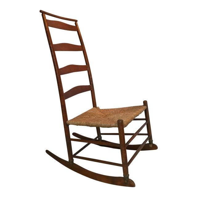 Antique Shaker Rocker Chair - Antique Shaker Rocker Chair Chairish