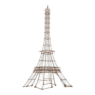 1980s Wire Eiffel Tower Replica For Sale