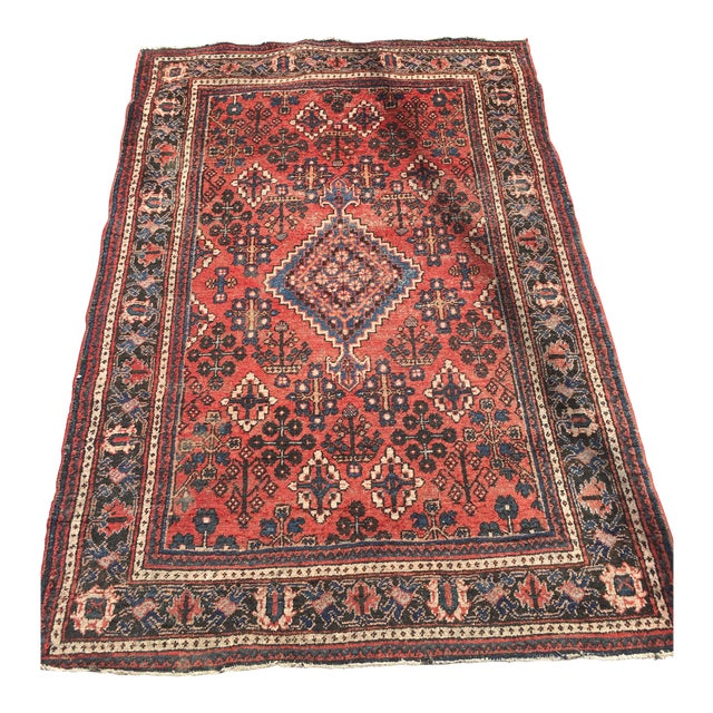 "Gorgeous Persian Vintage Wool Rug - 51"" x 73"" - Image 1 of 5"