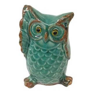 Vintage Ceramic Wise Owl For Sale