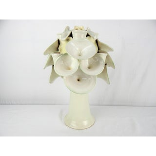 Large Art Pottery Botanical Candelabra Preview