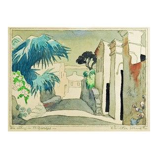 St. George Bermuda Watercolor Painting