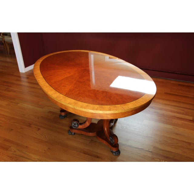 Henredon Oval Dining Table - Image 2 of 6