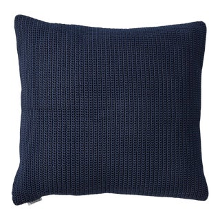 Cane-Line Divine Square Scatter Cushion, Midnight Blue For Sale