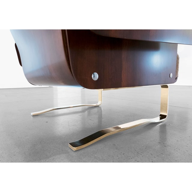 Mid-Century Cantilever Lounge Chair For Sale In Los Angeles - Image 6 of 11