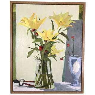 Modern Floral Still Life Oil Painting