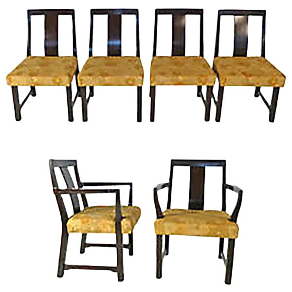 8 Edward Wormley Dining Chairs For Sale