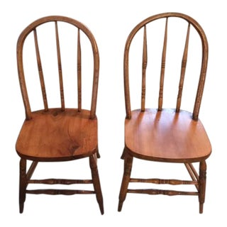 Primitive Side Chairs - a Pair For Sale