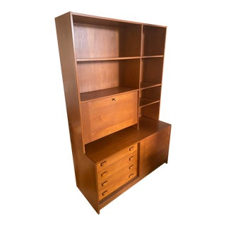 Domino Møbler Mid-Century Modern Teak Bookcase For Sale