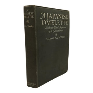"""A Japanese Omelette"" 1937 Early Edition Book For Sale"
