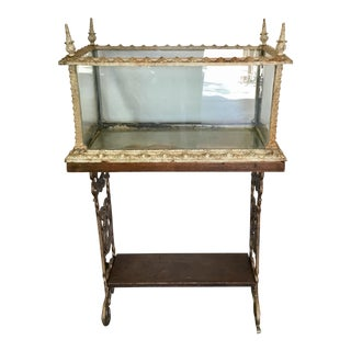 19th Century Fiske Iron Aquarium For Sale