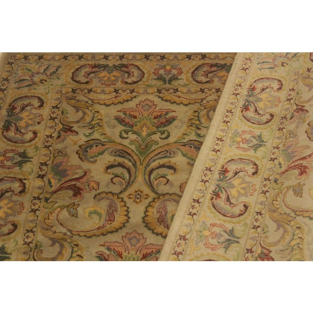 Pak-Persian Deandra Gray/Gray Wool Rug - 4'0 X 6'0 For Sale In New York - Image 6 of 8