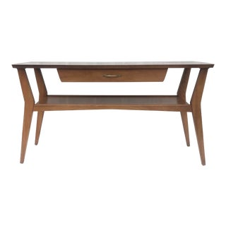 Tall Mid-Century Coffee Table by Mersman For Sale