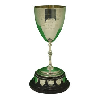 1933 Vintage Mablethorpe Golf Club Trophy For Sale