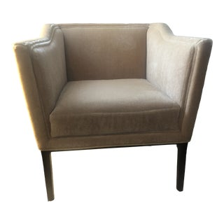 Baker Polyester Fiber Elegant Chair For Sale