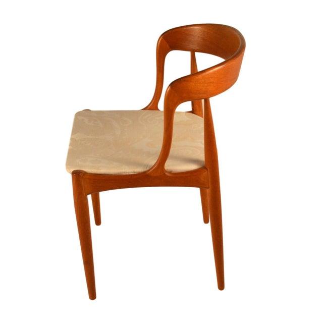 Johannes Andersen Teak Dining Chairs- Set of 6 - Image 3 of 6