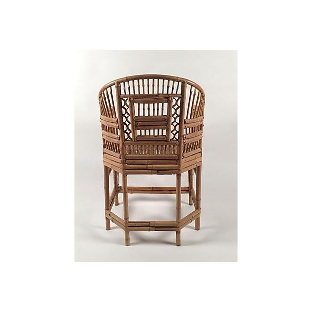 1960's Brighton Bamboo Chair - Image 7 of 7