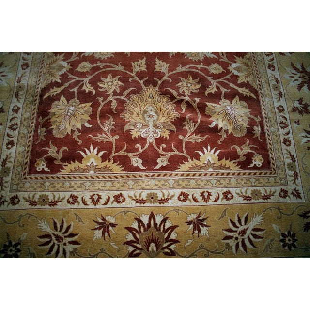 Persian Tabriz Rug - 8' X 11' For Sale - Image 4 of 5